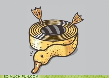duck duct tape literalism similar sounding tape - 5121278976