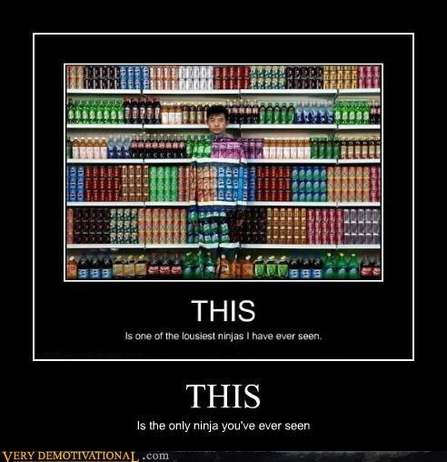 camouflage,ninja,Pure Awesome,soda,true,tunnel