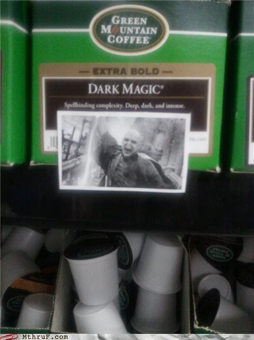 coffee dark roast Harry Potter voldemort - 5121302784