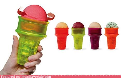cone,epicute,gadget,ice cream,lazy,luxury,plastic,spin