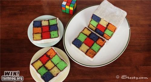 baking cake food nerdgasm rubiks cube - 5121670912