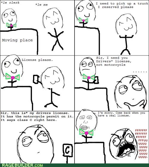 driving,license,permit,Rage Comics,rental
