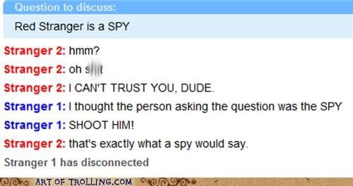 Omegle,shoot him,spy,spymode,trust
