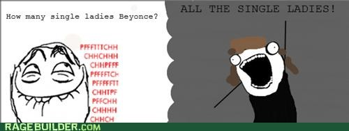 all the guy beyoncé Rage Comics single ladies