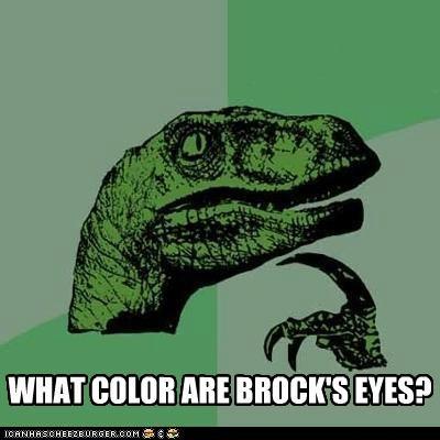 brock cant tell meme Memes philosoraptor - 5122000384