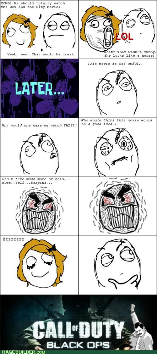 call of duty movies Rage Comics sex and the city - 5122063616