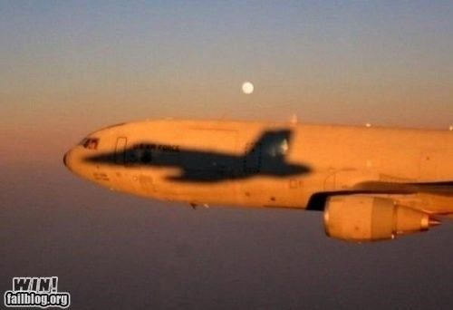airplane jet photography plane shadow silhouette