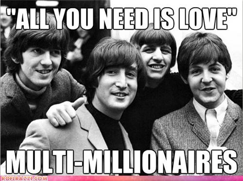 celeb,funny,meme,Music,the Beatles