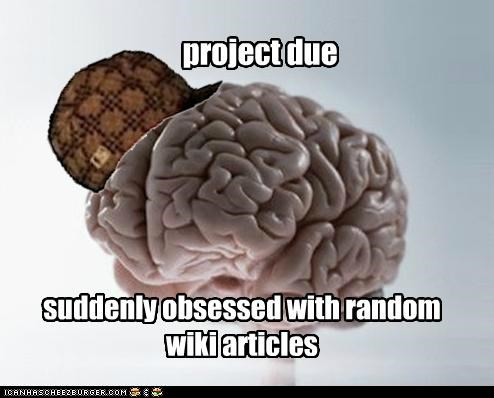 articles project random scumbag brain wikipedia