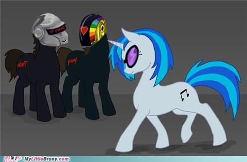 daft punk dance party dj PON-3 Music ponies - 5122948608