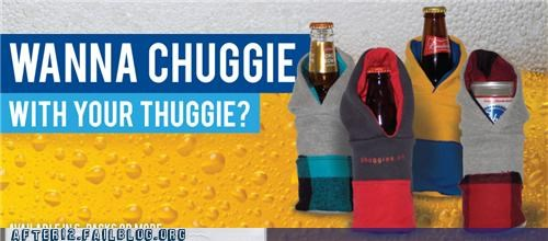 beer not okay snuggie why would you do that