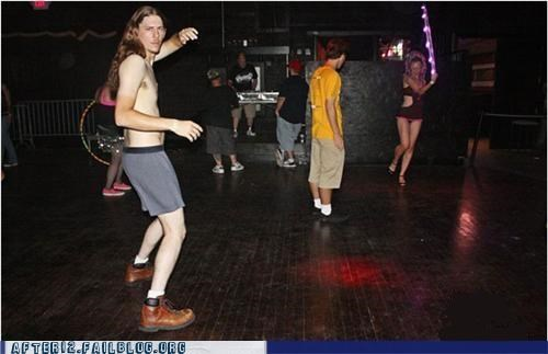 dancing,empty,forever alone,mosh pit