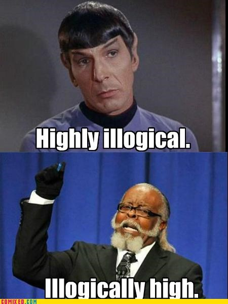 illogical jimmy mcmillan Star Trek the rent is too damn high - 5123558656