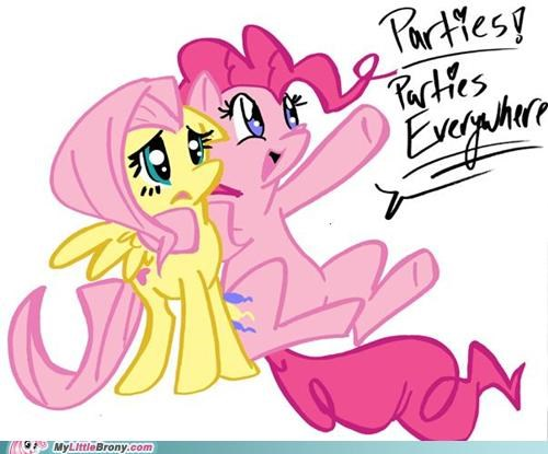 better the world fluttershy parties pinkie pie ponies vision - 5124017152