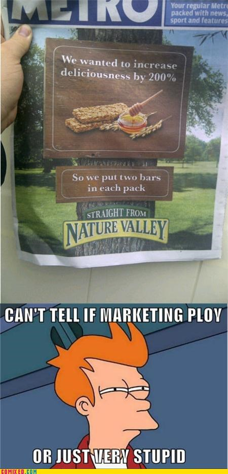 fry meme granola nature valley the internets