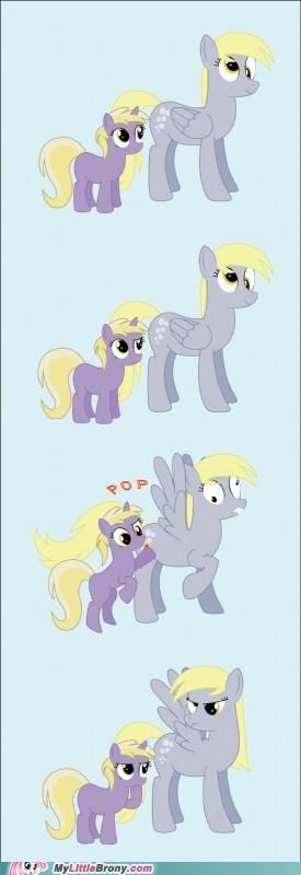 bubbles comics curious derpy hooves just herping a derp - 5125112064