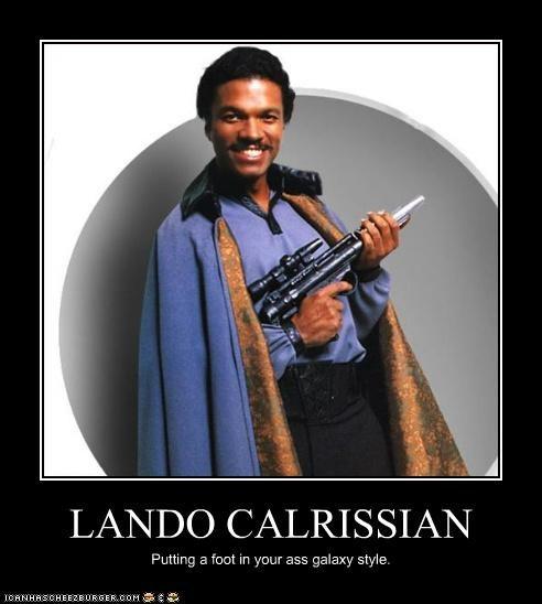 actor Billy Dee Williams celeb demotivational funny Movie sci fi star wars - 5125114624