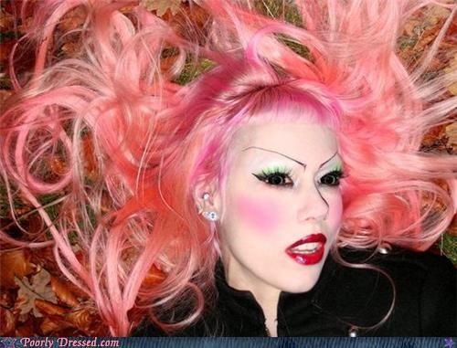 eyebrows eyeshadow pink - 5125216768