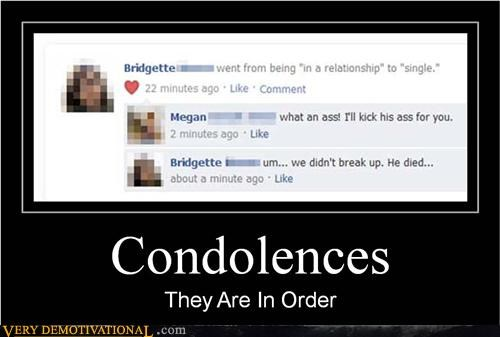 Death facebook impossible relationships sad but true