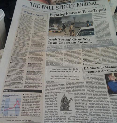 barcraft,front page,starcraft,StarCraft II,video games,wall street journal