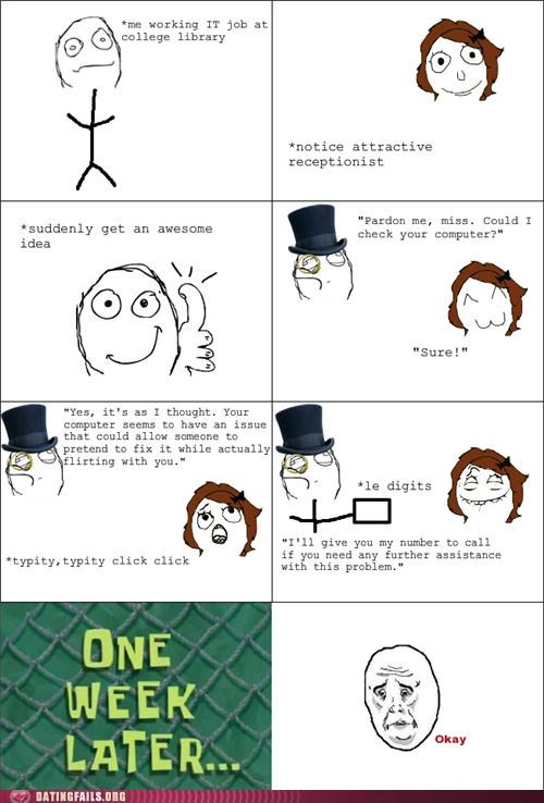 comic number rage comic rejection Tech We Are Dating - 5125655040