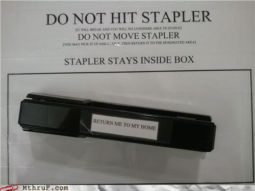 Type-A High-Maintenance Stapler