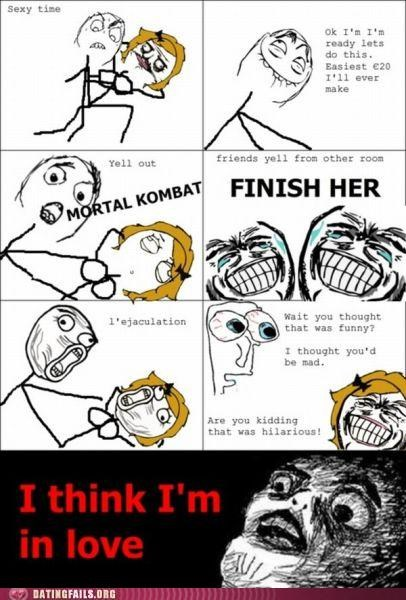 comic Hall of Fame Mortal Kombat rage comic sex video games - 5125926400