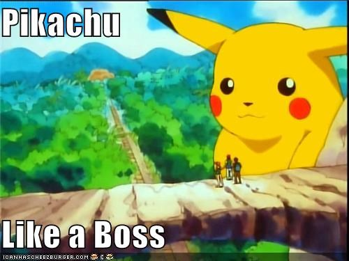 Like a Boss pikachu pokemon tv show rare candy tv-movies - 5125942784