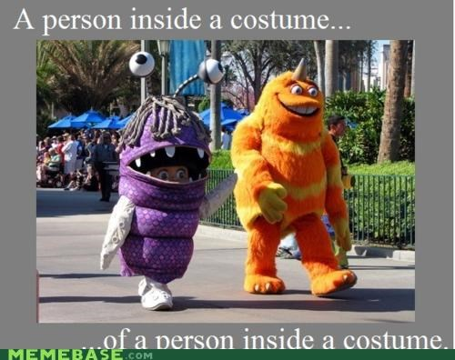costume,monster,people,pixar,yo dawg