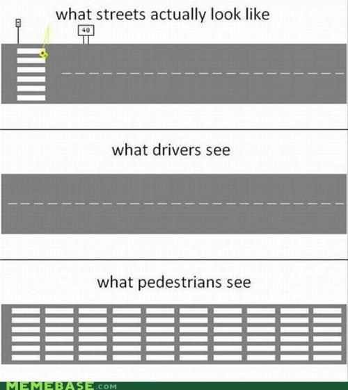 cars How People View Me pedestrians roads streets walking - 5126041088