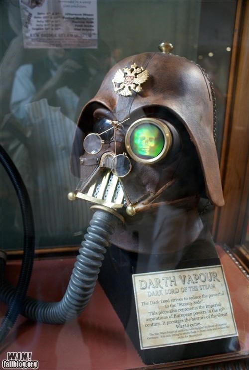 darth vader,nerdgasm,star wars,Steampunk