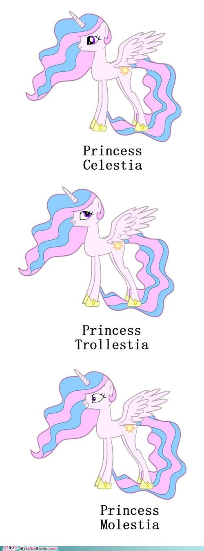 faces pedobear approved ponies princess celestia troll - 5126496512