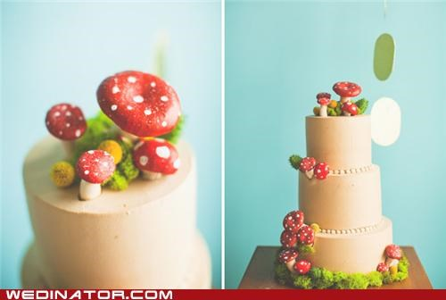 funny wedding photos,geek,super mario,wedding cake