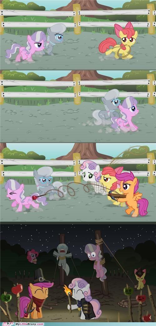 apple bloom comic comics cutie mark crusaders Scootaloo Sweetie Belle - 5126995456