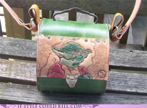 bags,cool accessories,geek chic,purses,star wars,yoda