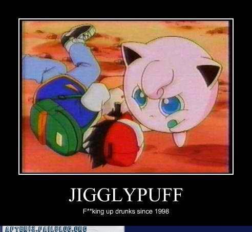 Hall of Fame jigglypuff old school passed out Pokémon sharpie - 5127093760