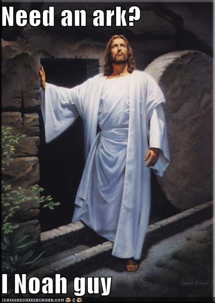 ark lol LOL Jesus noah puns sunday - 5127268096