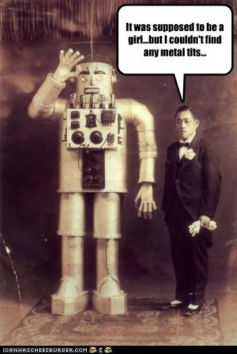 funny Photo robot wtf - 5127290368
