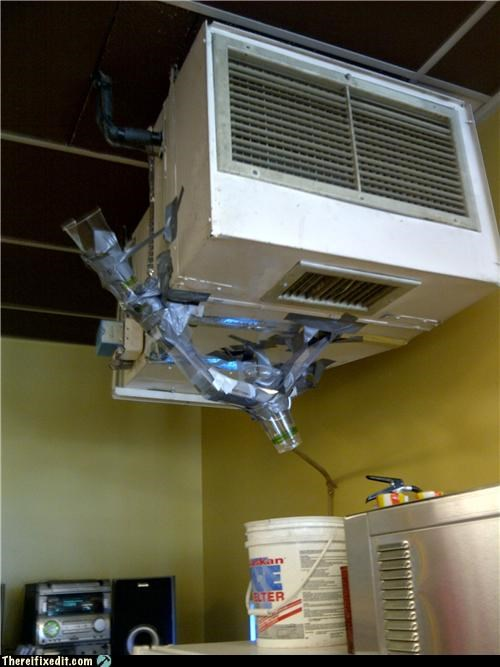 ac,cups,dual use,duct tape,wtf