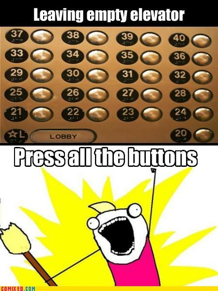 all the things,button,elevator,floor,rage face,the internets
