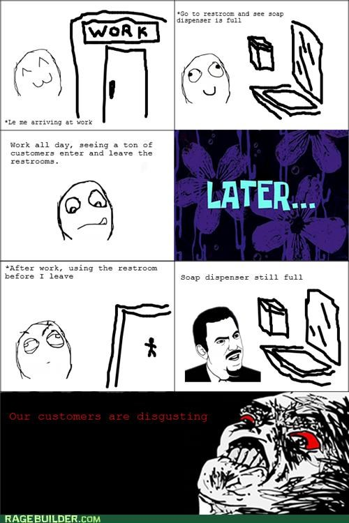 hygiene,Rage Comics,sanitary,soap