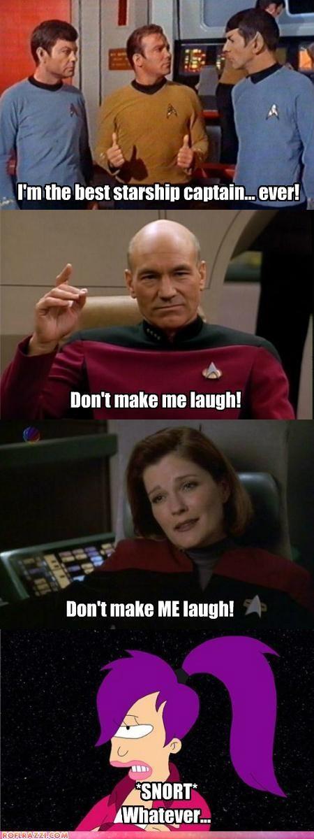 celeb comic funny futurama sci fi Star Trek - 5128339200