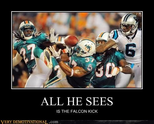 falcon punch football hilarious sports - 5128383232