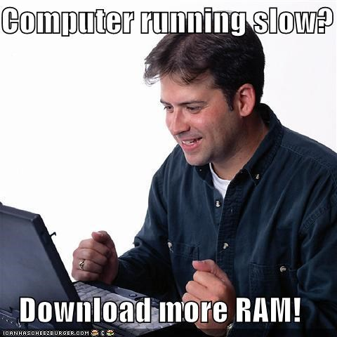 computer duck Net Noob ram slow - 5128435968