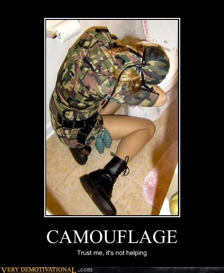 camouflage costume hilarious Party vomit - 5128468736