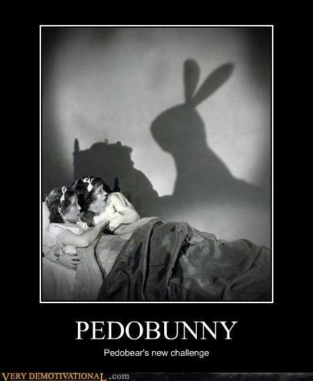 bunny hilarious pedobear shadow wtf - 5128890368