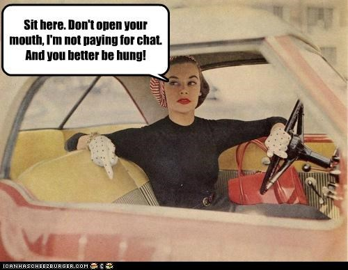 Ad car funny lady Photo - 5129020928