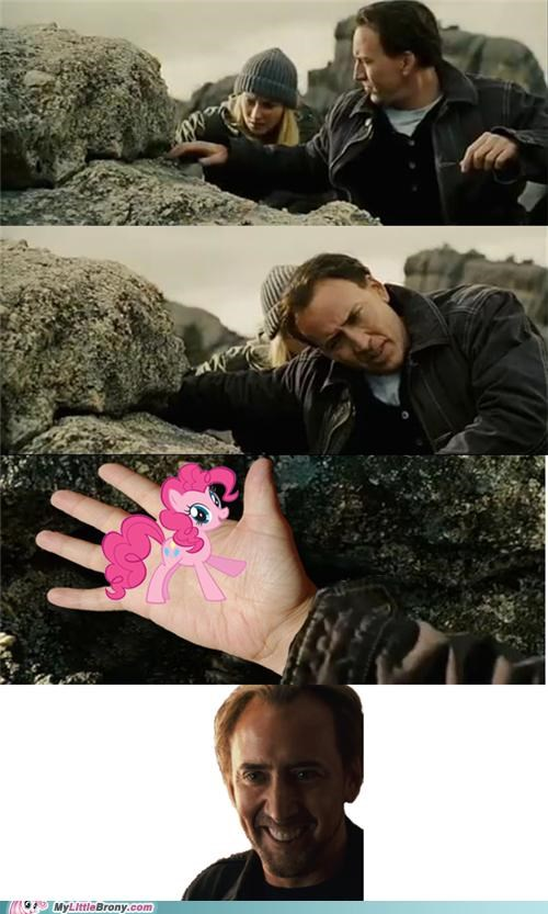 lol national treasure nicholas cage pinkie pie TV - 5129196544