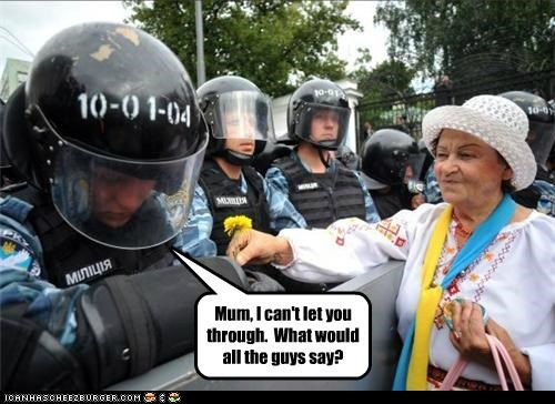 funny police Protest riot - 5129351168