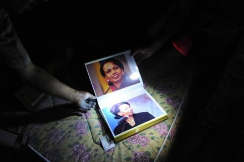 Bab al-Azizia Condoleezza Rice Fap Book Libyan Uprising - 5129377024